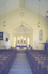 Church Inside 2008