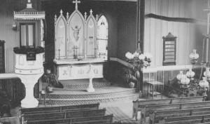Church Interior 1920s