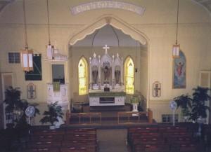 Church Interior 1999