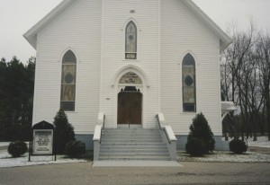 Front of Church 2001