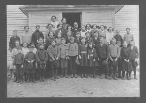 School & Students circa 1892-1919