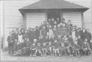 School, Teacher & Pupils 1899