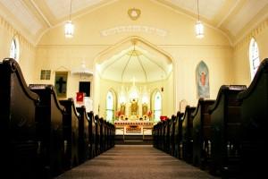 Inside Altar View