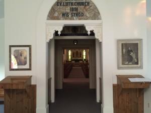 Inside Church Entrance 2